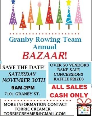 granby bazaar 2019 - 2020 flyer