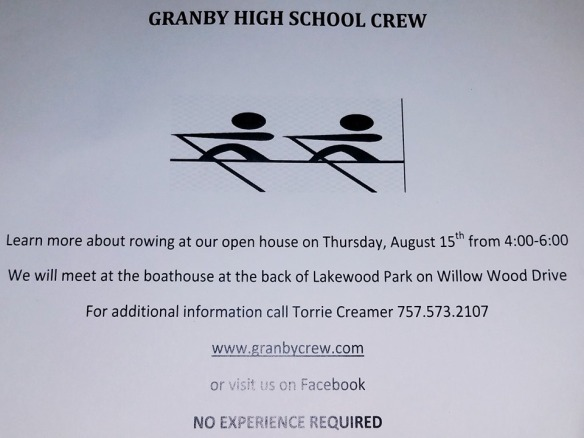 granby crew informational aug 15 2019
